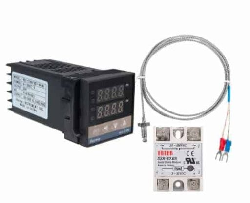 Digital PID Temperature Controller with probe and relay