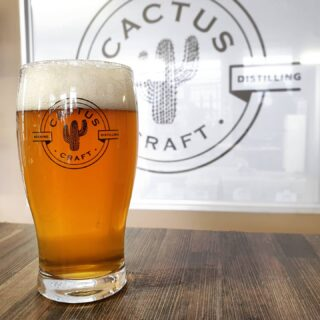 Cactus Craft Beer Glass